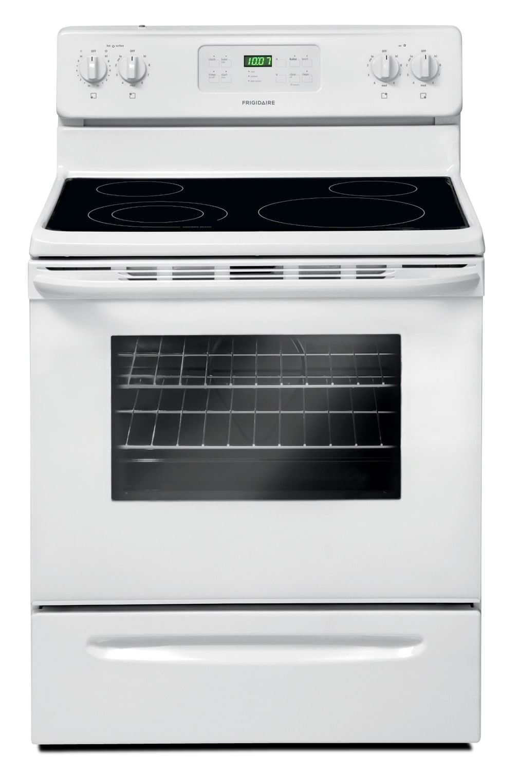 Cooking Products - Frigidaire White Freestanding Electric Range (5.3 Cu. Ft.) - CFEF3018LW