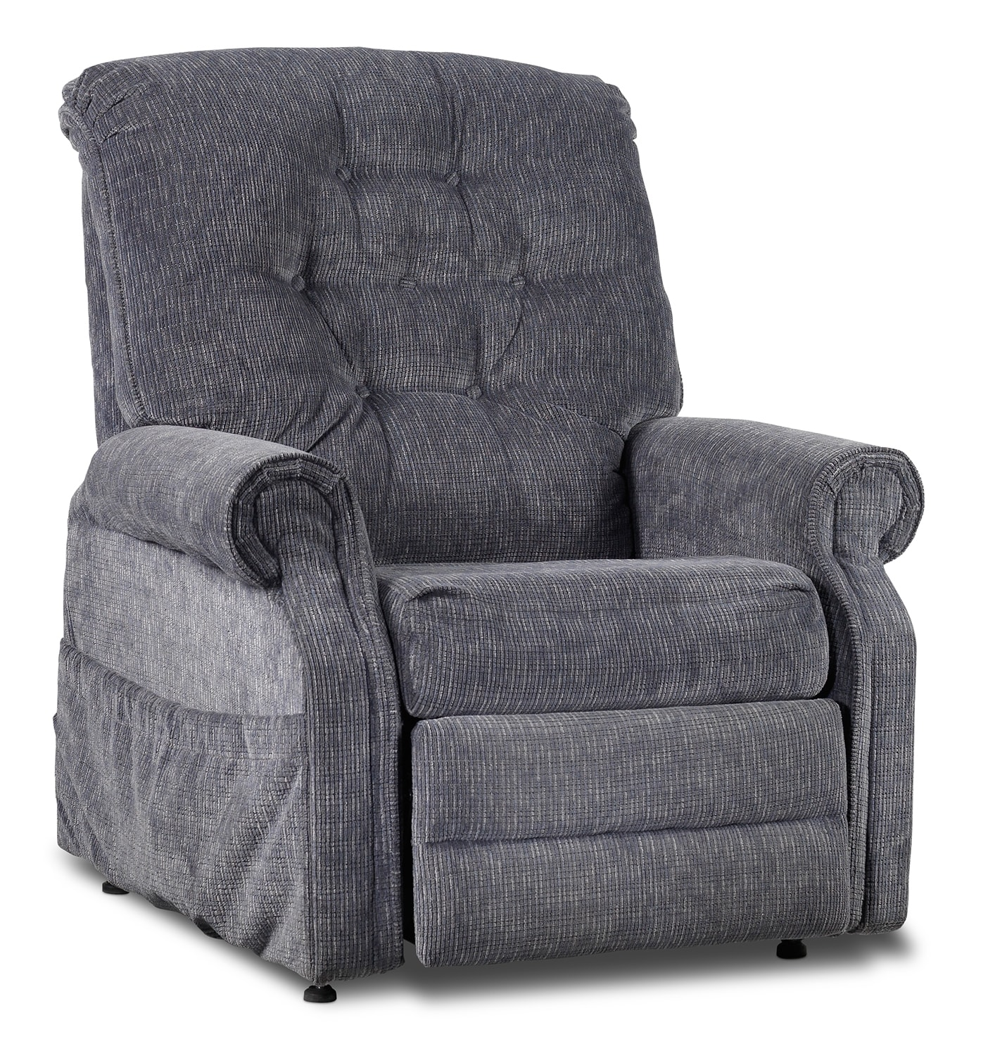 Living Room Furniture - Boost Power Lift Recliner - Slate Grey