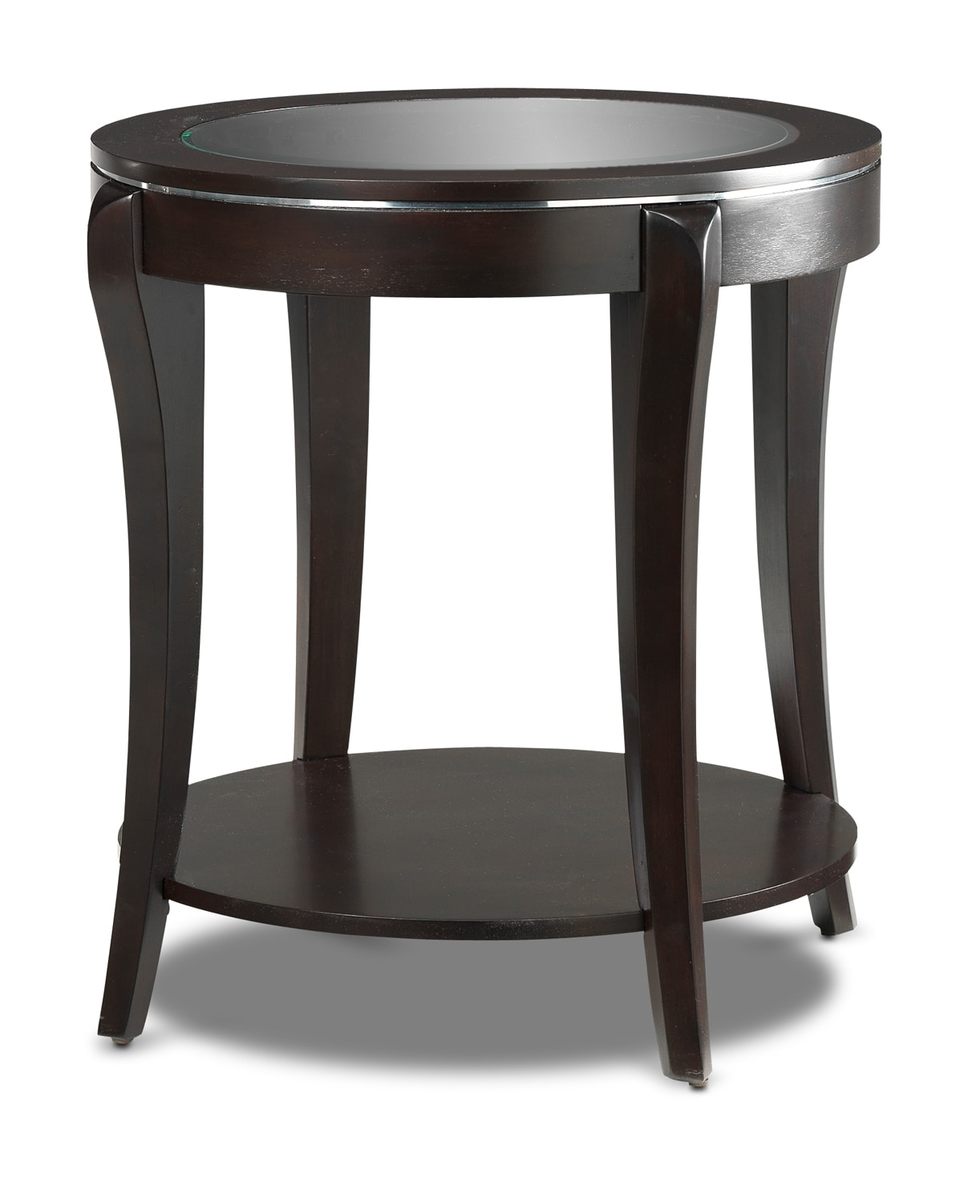 Taurus End Table - Espresso