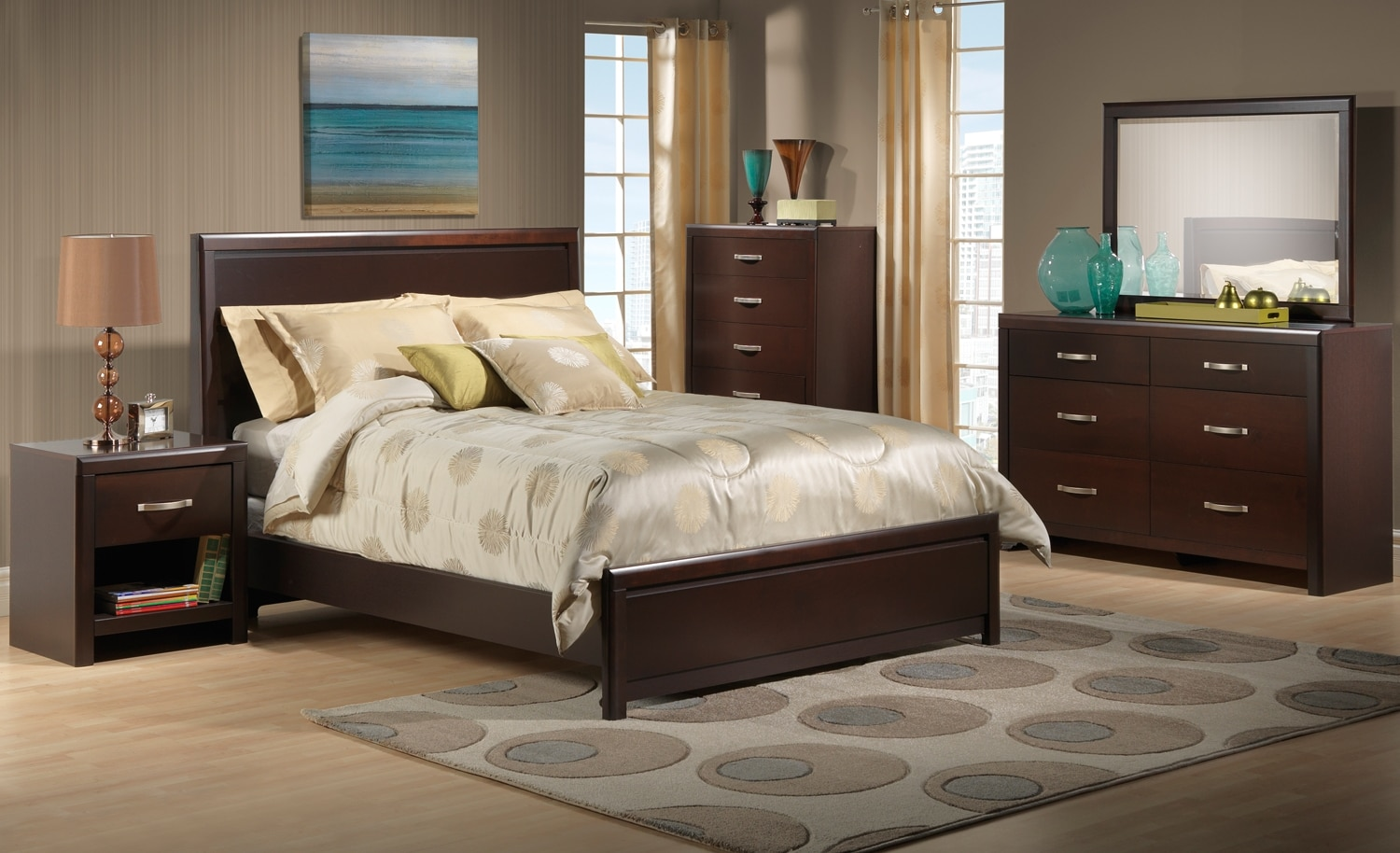 Leons Bedroom Sets Furniture Durham Collection Style Ideas