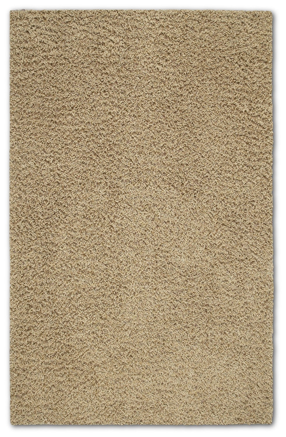 Shop Shaw Living 5' x 8' Ivory Shaggedy Shag Area Rug at review