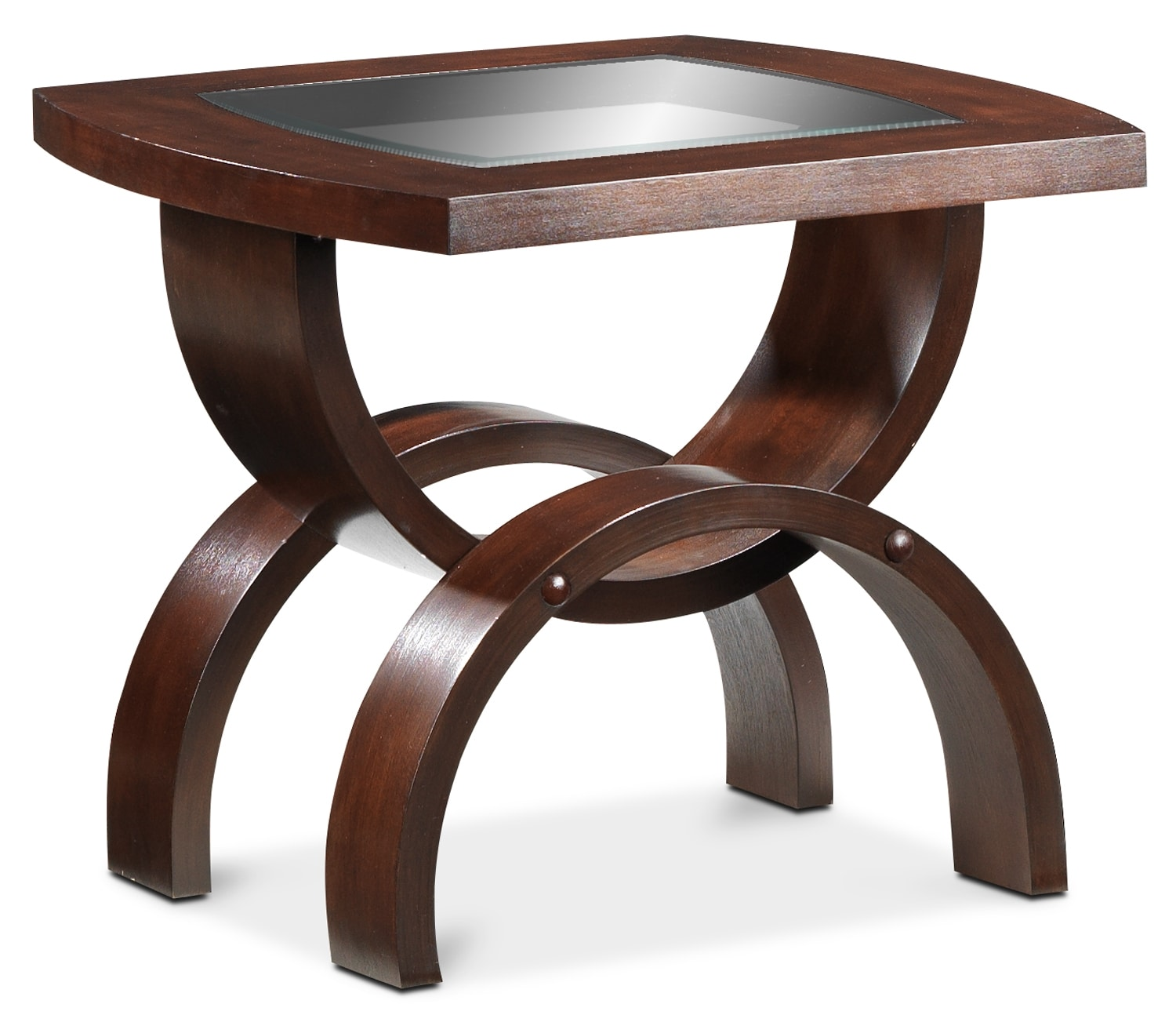 Embrace End Table - Chocolate