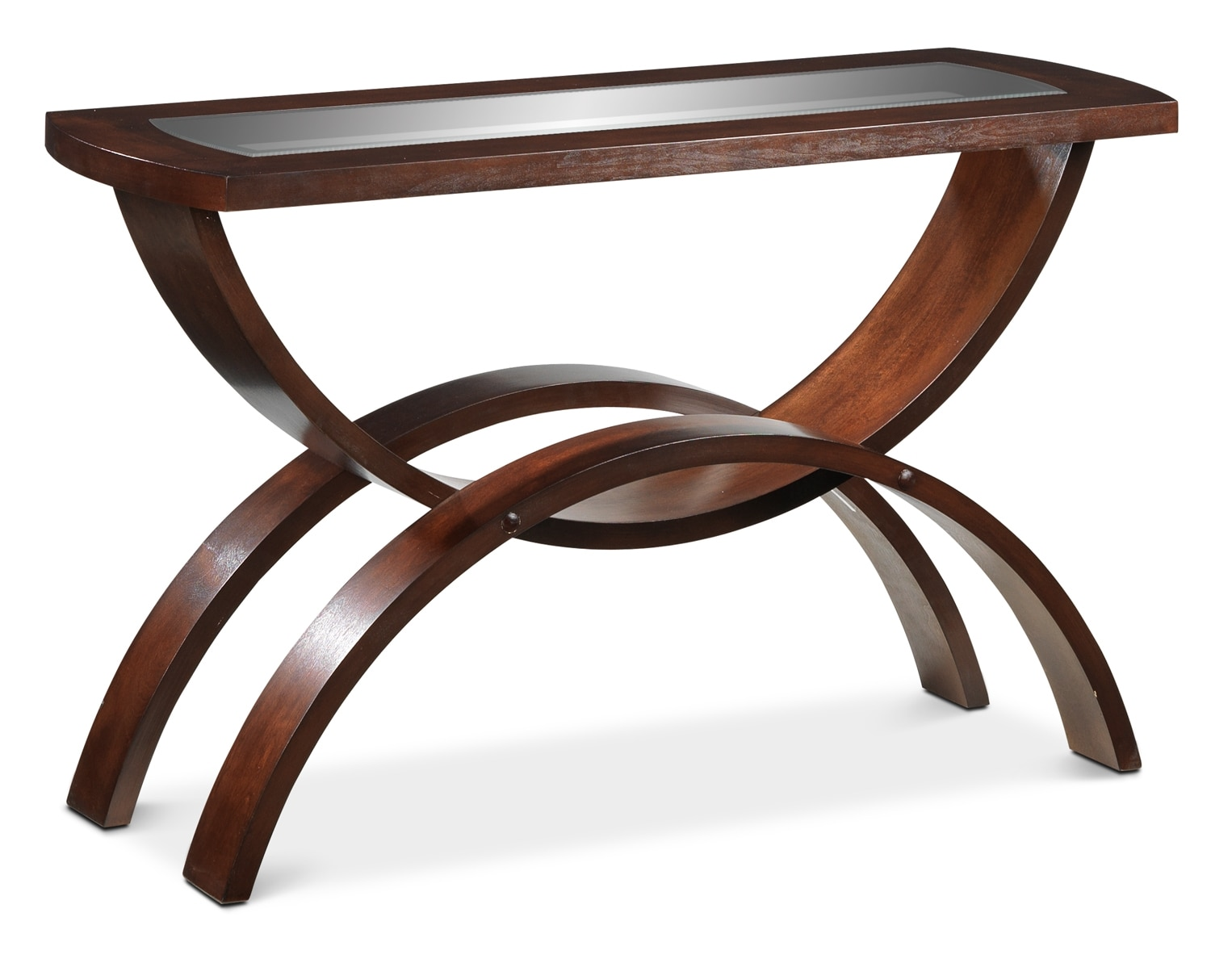 Embrace Sofa Table - Chocolate