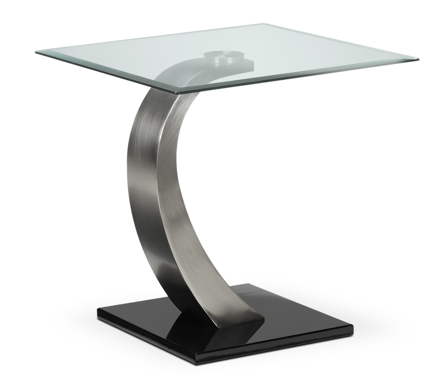 Accent and Occasional Furniture - Architect End Table - Stainless Steel