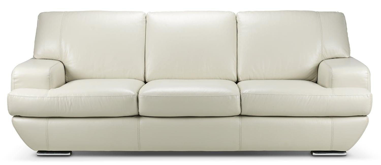 Living Room Furniture - Miranda Sofa - Off-White