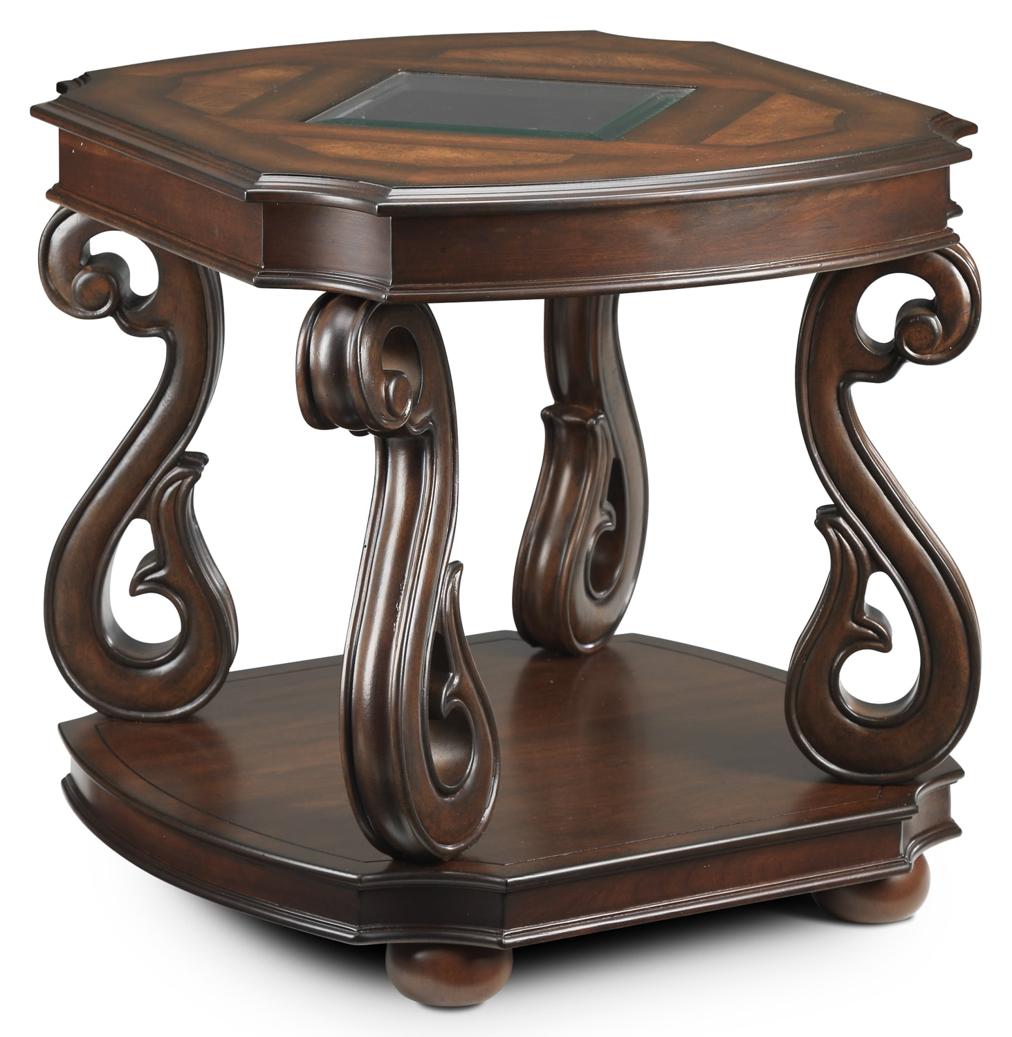 Accent and Occasional Furniture - Harcourt End Table - Cherry
