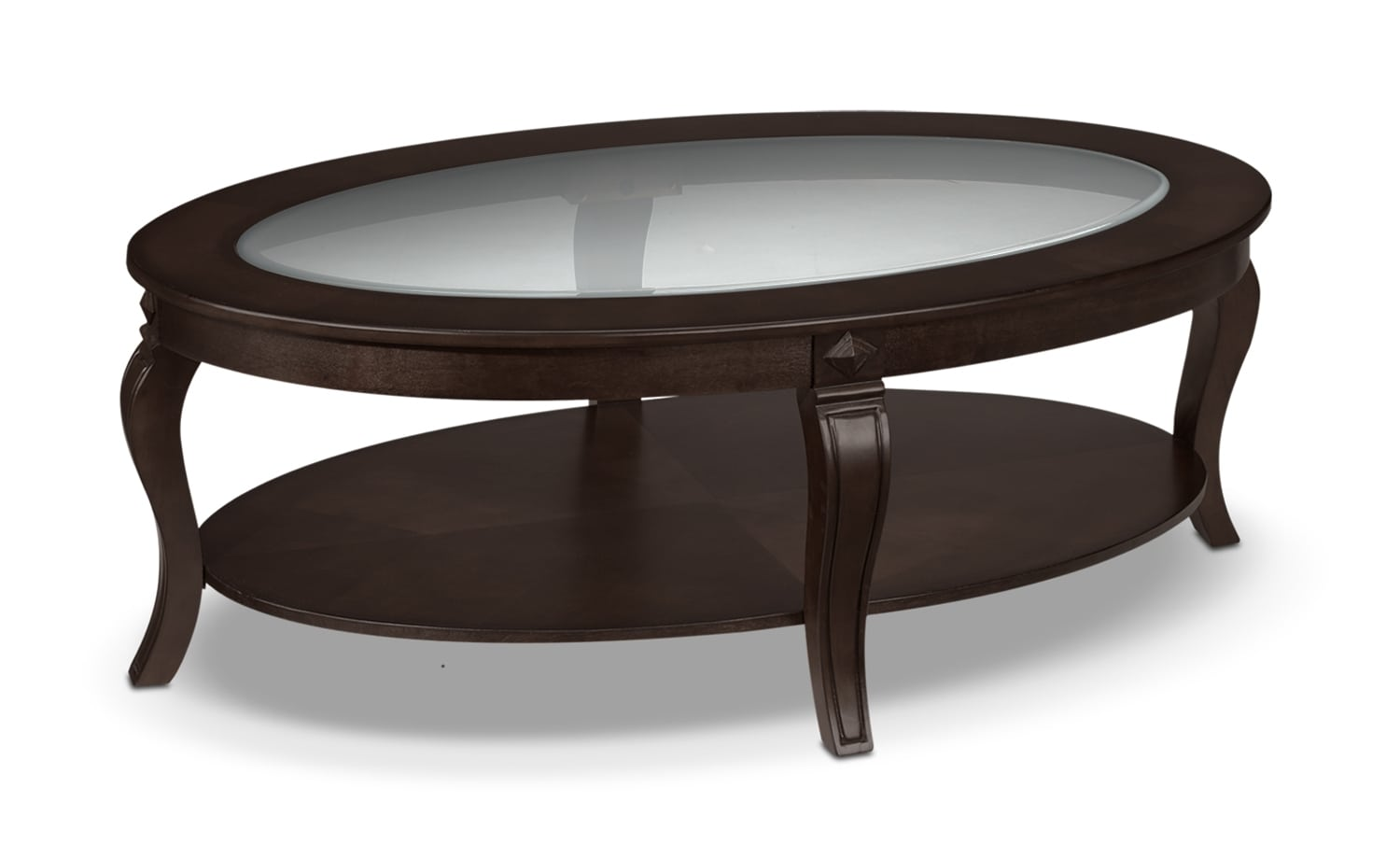 Accent and Occasional Furniture - Madeira Coffee Table - Chocolate
