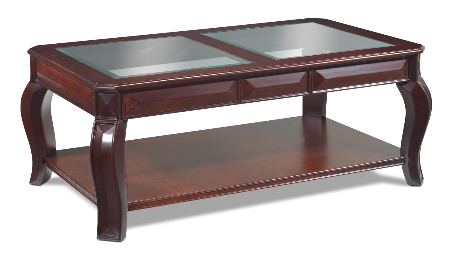 Accent and Occasional Furniture - Jamison Coffee Table - Deep Espresso