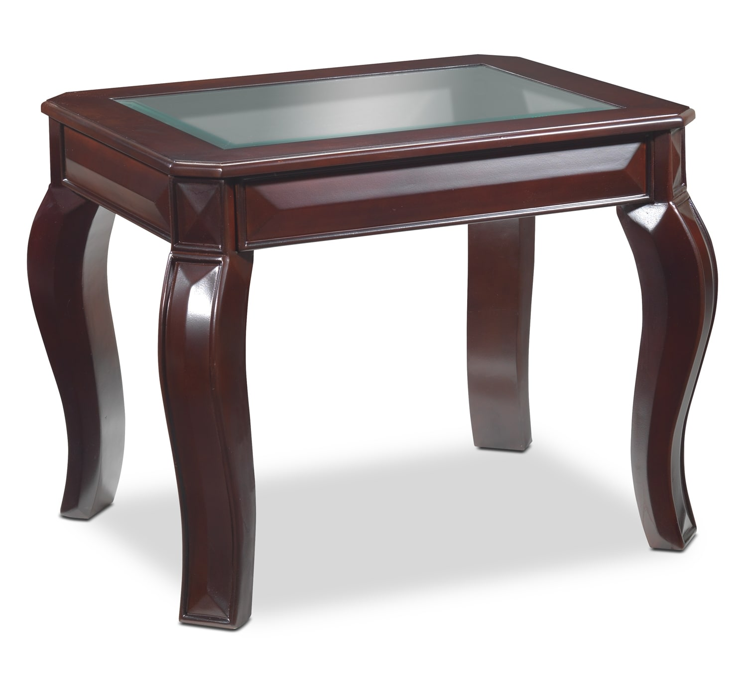 Accent and Occasional Furniture - Jamison End Table - Deep Espresso
