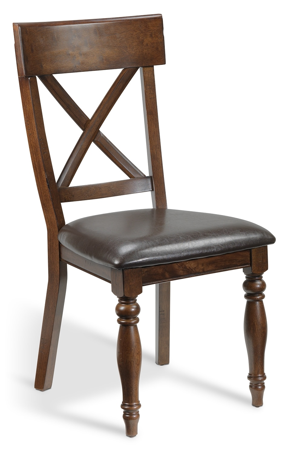 Dining Room Furniture - Kingstown Side Chair - Chocolate