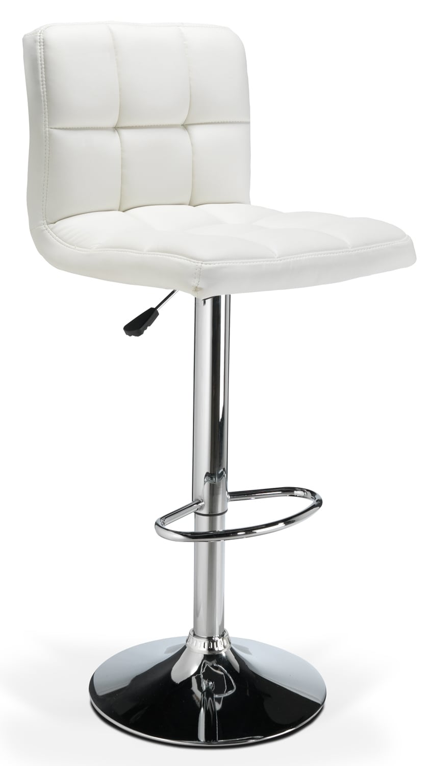 Accent and Occasional Furniture - Montley Barstool - White