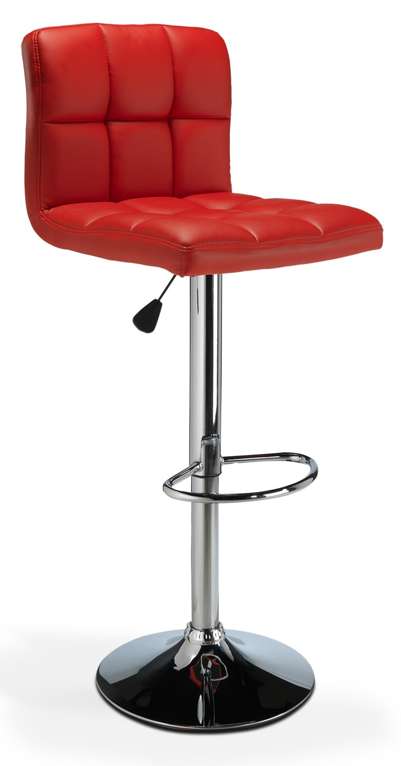Casual Dining Room Furniture - Montley Barstool - Red