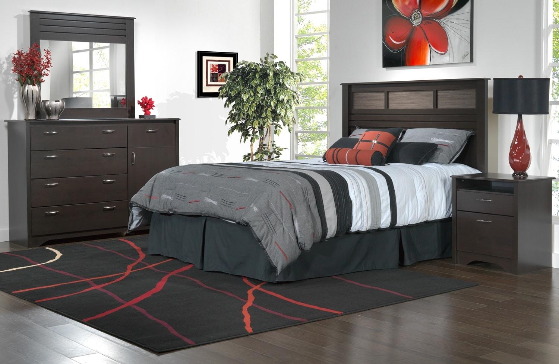 rodea 4 pc queen bedroom set bed mattress sale