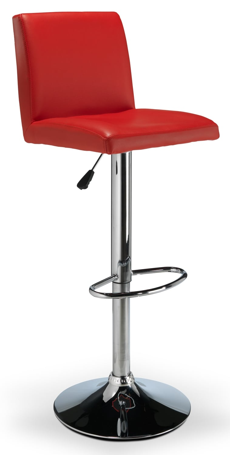 Casual Dining Room Furniture - Warren Barstool - Red