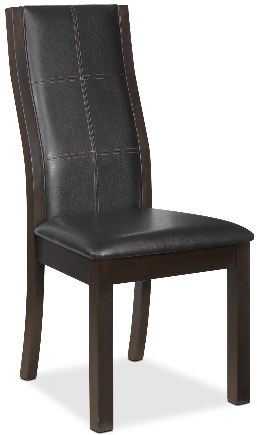 Dining Room Furniture - Grethell Side Chair - Espresso