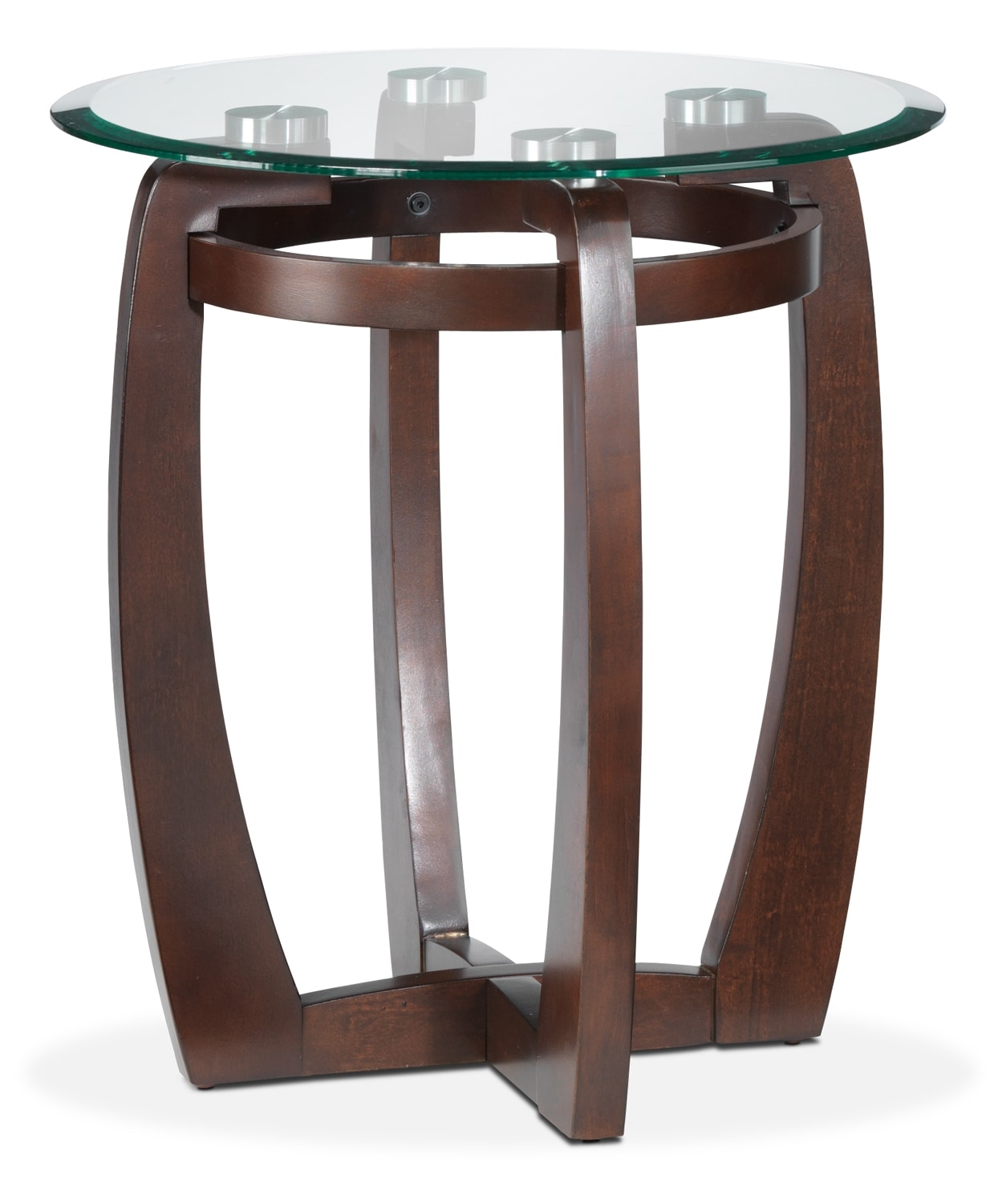 Jillian End Table - Espresso