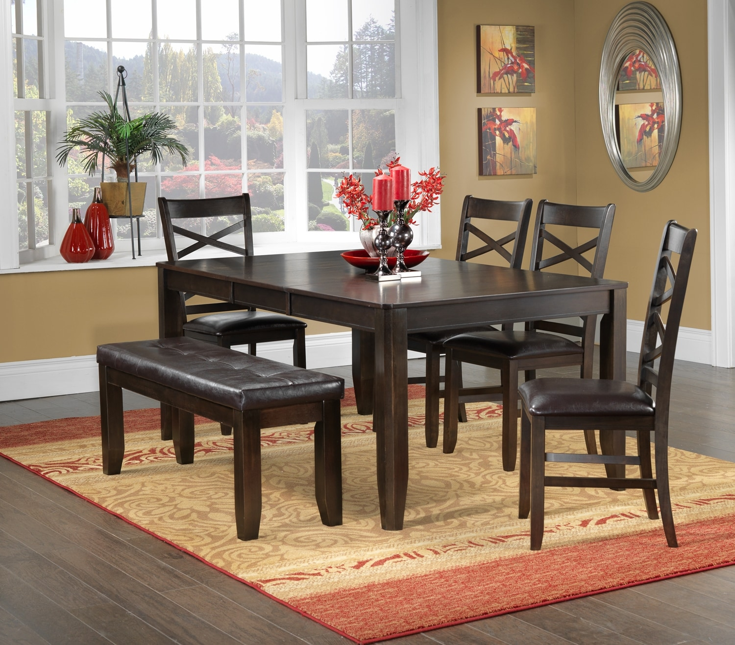 Casual Dining Room Furniture The Gina Collection Gina Table