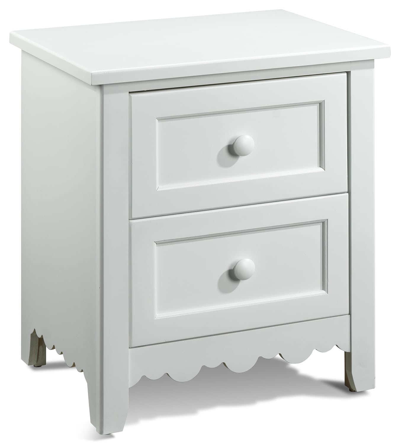 Kids Furniture - Sweetdreams Night Table - White