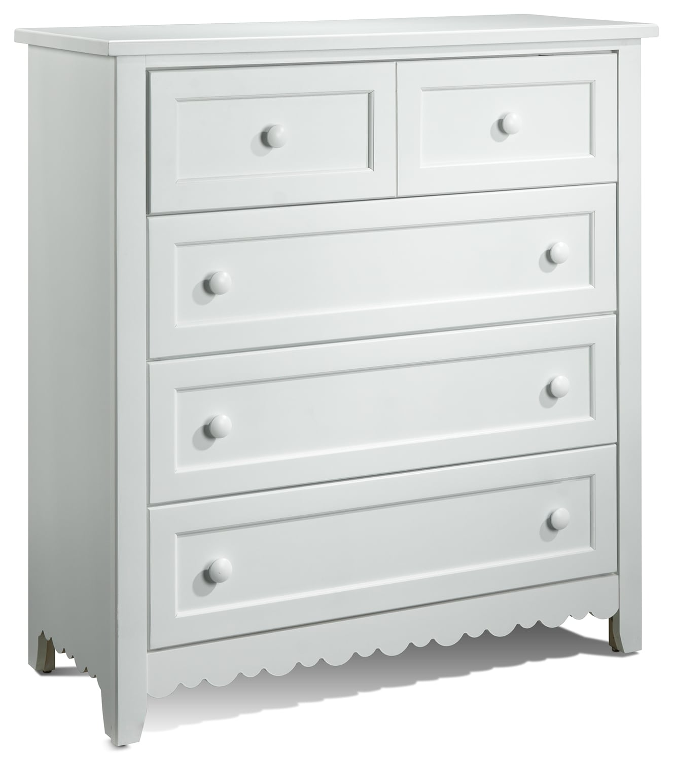 Sweetdreams Commode 5 tiroirs - blanc