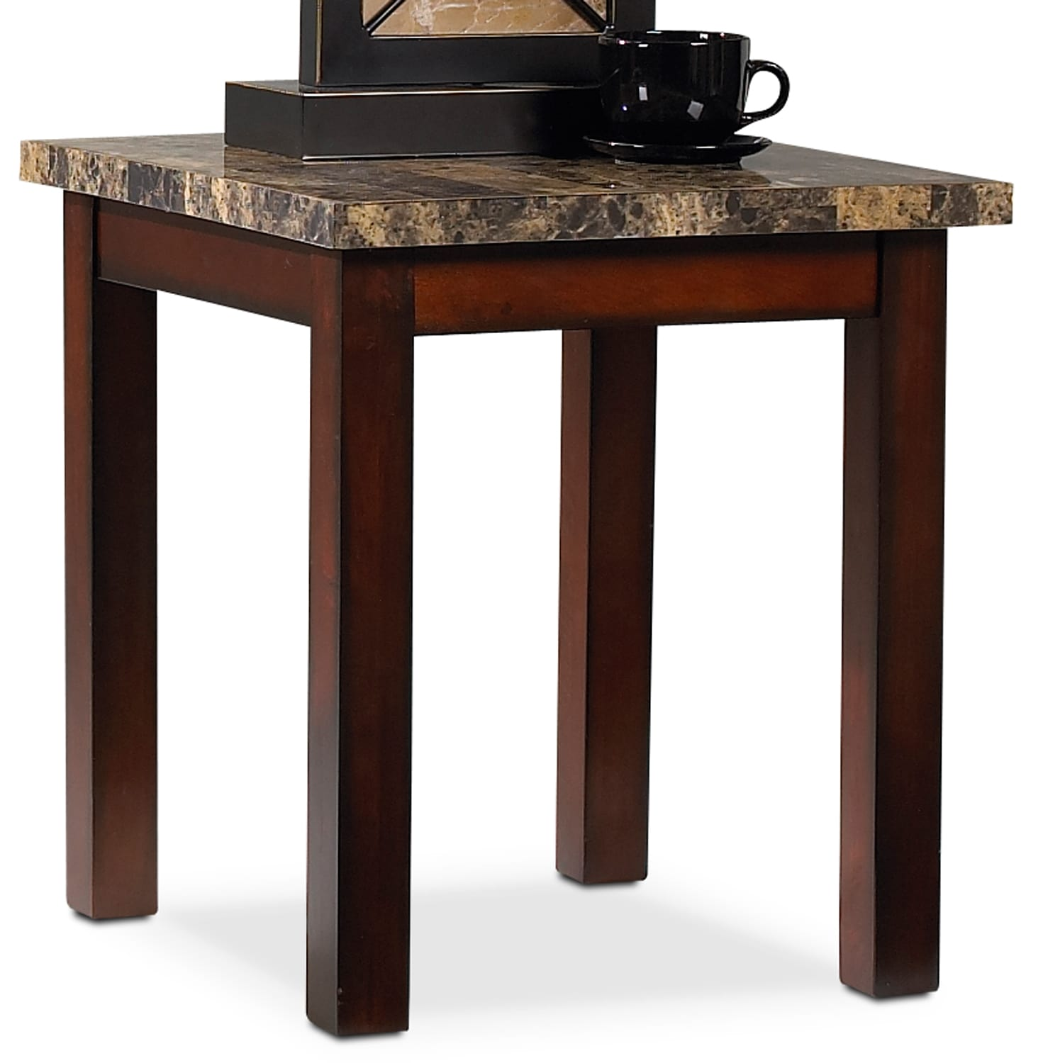 Accent and Occasional Furniture - Novita End Table - Cherry