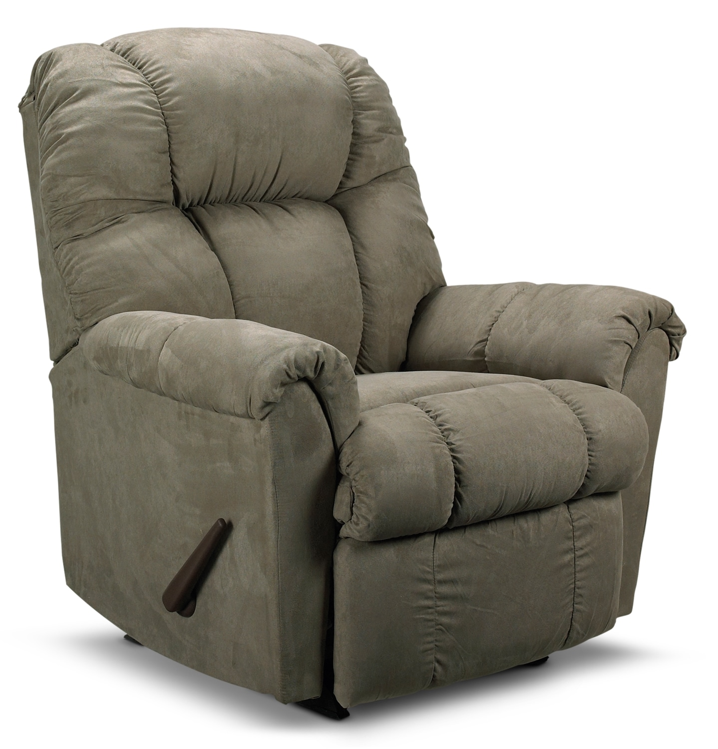 Living Room Furniture - Benson Rocker Recliner - Sage