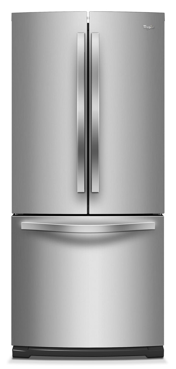 Refrigerators and Freezers - Whirlpool Stainless Steel French Door Refrigerator (19.5 Cu. Ft.) - WRF560SFYM