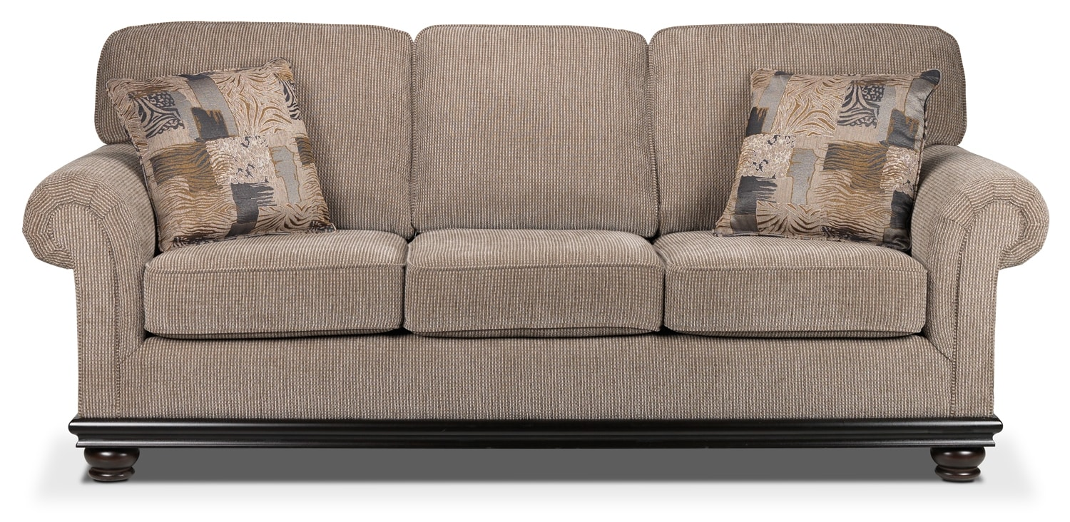 Tarano Sofa - Light Brown