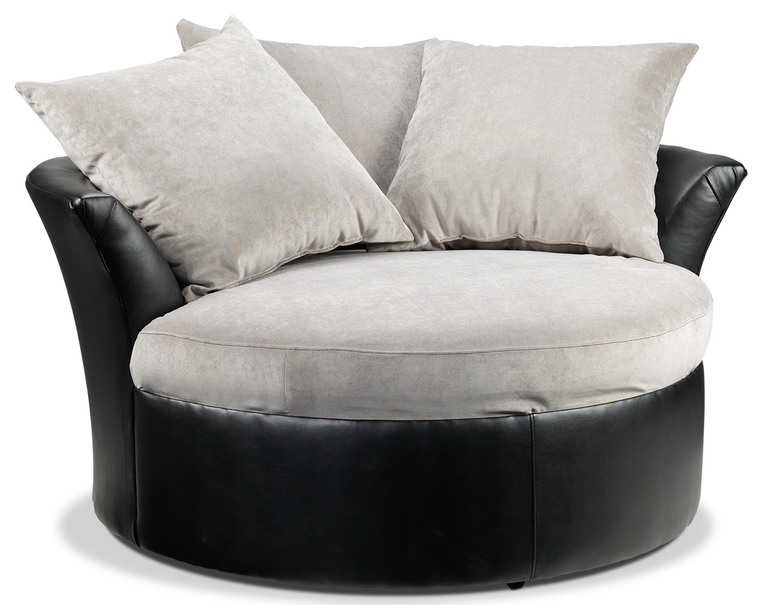 Cuddler Chair - Black, Grey