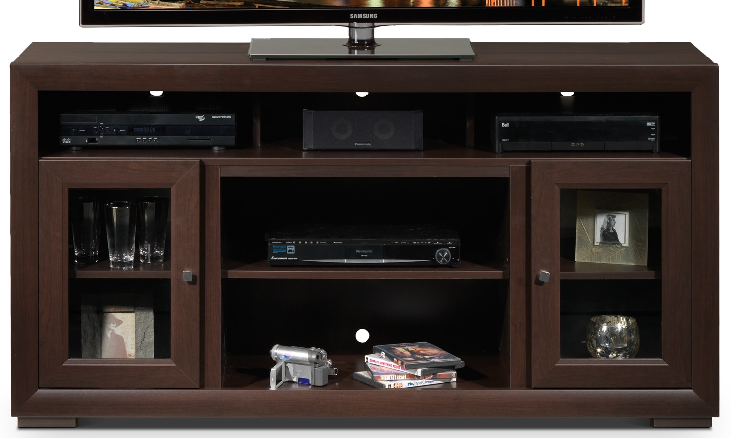 Entertainment Furniture - Myra TV Credenza - Java