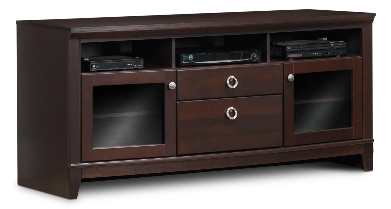 Entertainment Furniture - Eclipse TV Credenza - Bordeaux
