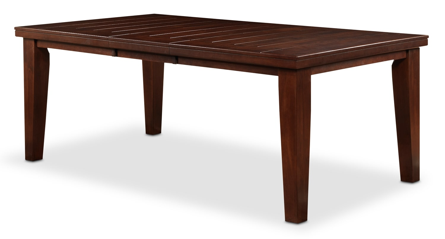 Casual Dining Room Furniture - Mayfield Table - Dark Oak