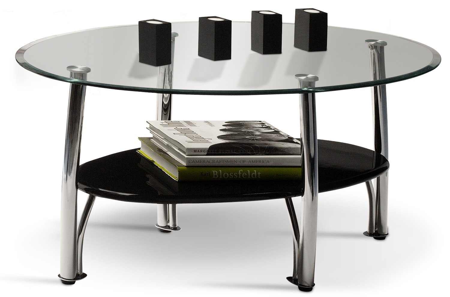Accent and Occasional Furniture - Ventura Coffee Table - Chrome