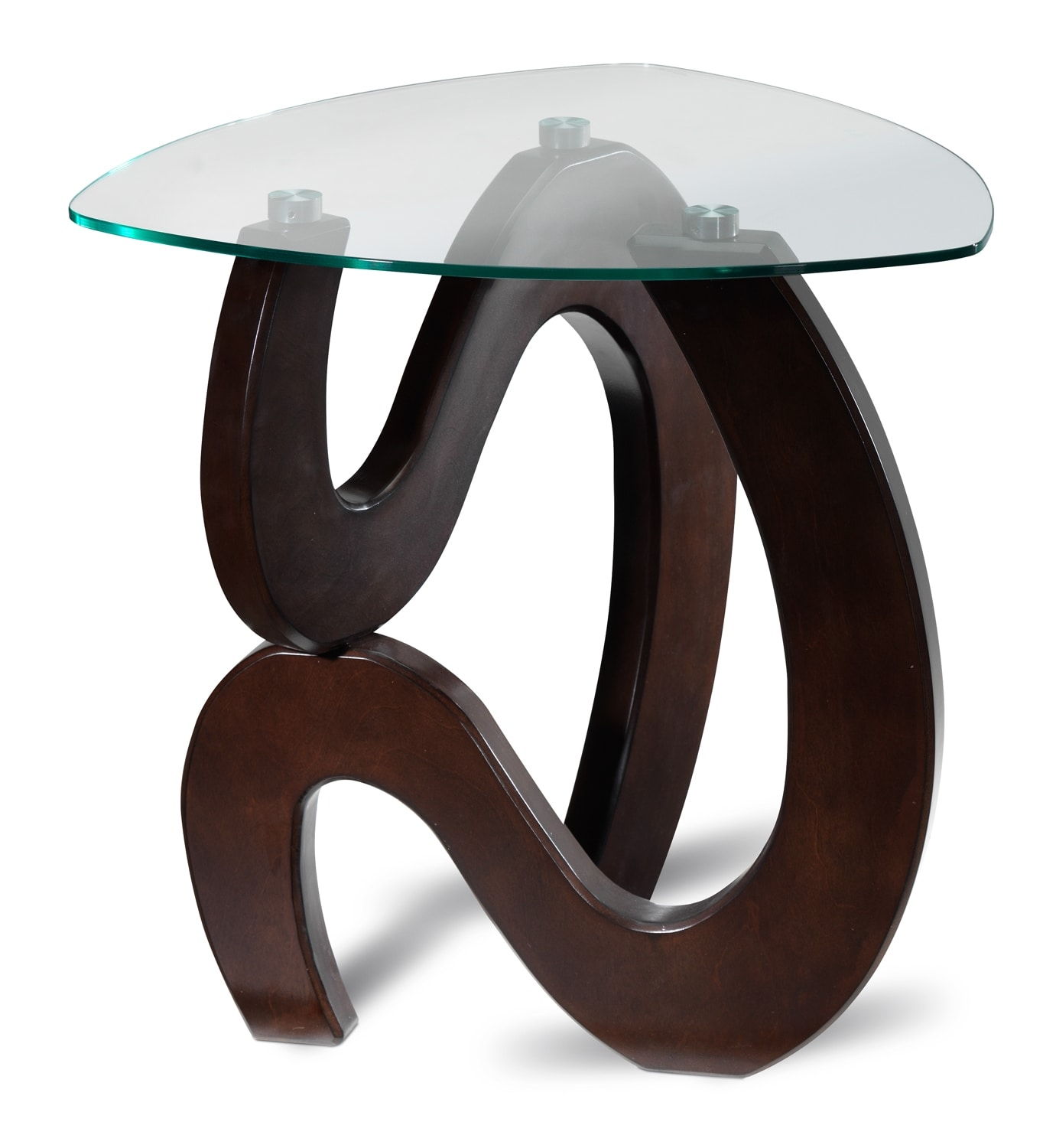 Accent and Occasional Furniture - Vivian End Table - Espresso