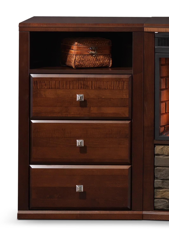 Entertainment Furniture - Edmonds Drawer Unit - Umber