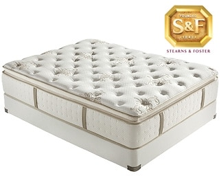 [R Series Luxury Firm EPT Full Mattress/Boxspring Set]