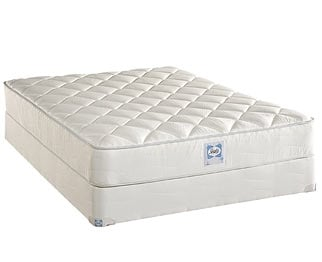 [Luxury Series Plush Queen Mattress/Boxspring Set]