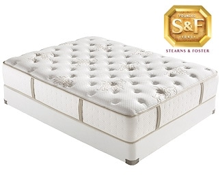 [P Series Luxury Plush Queen Mattress/Boxspring Set]