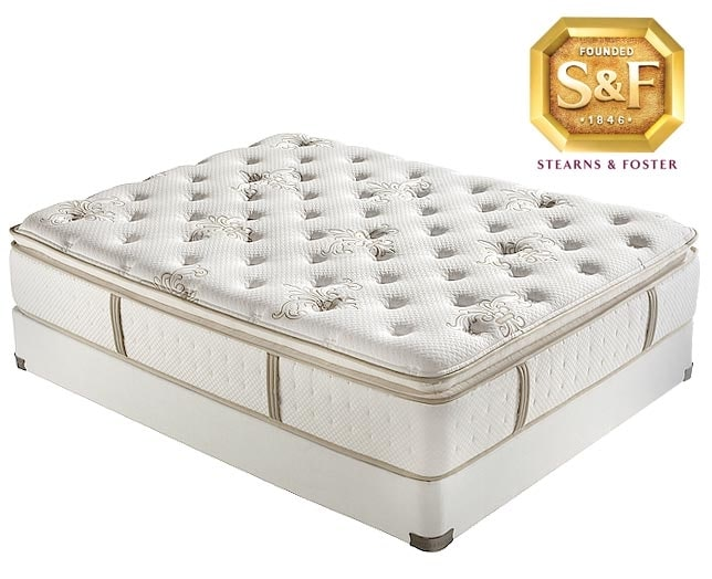 [P Series Luxury Plush EPT Queen Mattress/Boxspring Set]