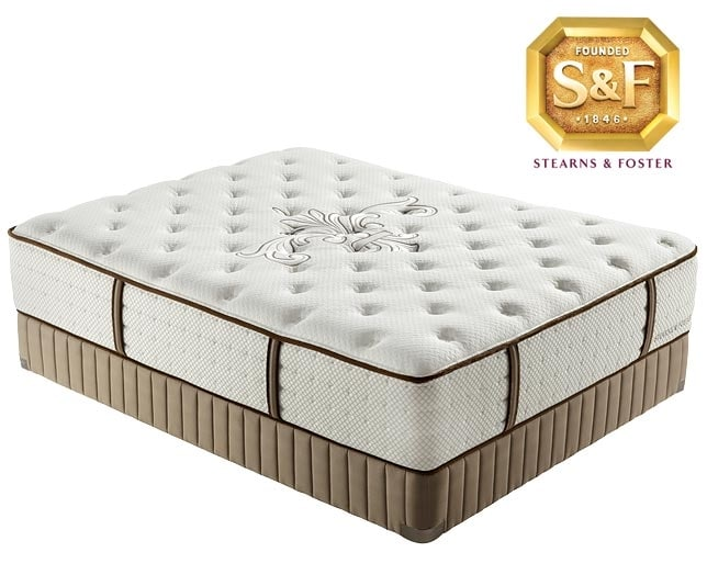 "[Luxury Estate ""L"" Series Luxury Firm Queen Mattress/Boxspring Set]"