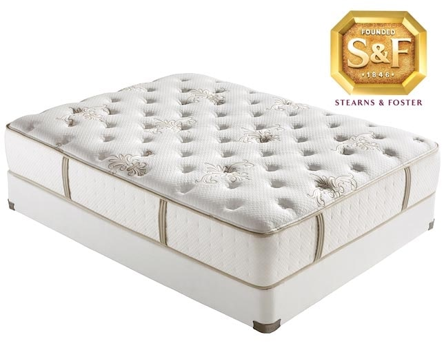 [C Series Luxury Firm Queen Mattress/Boxspring Set]
