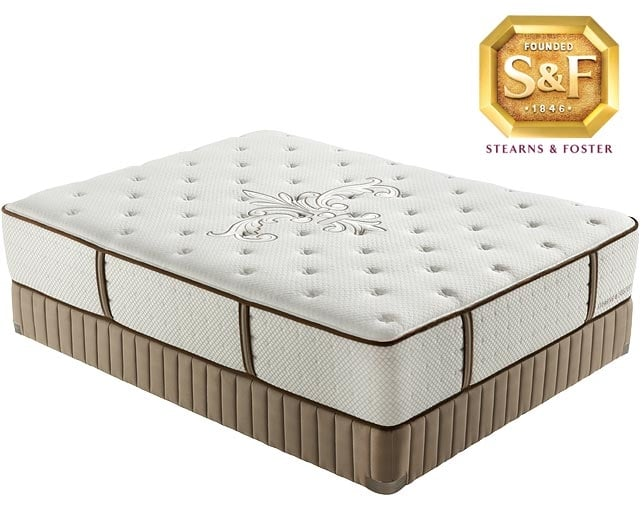 "[Luxury Estate ""L"" Series Ultra Firm Queen Mattress/Boxspring Set]"