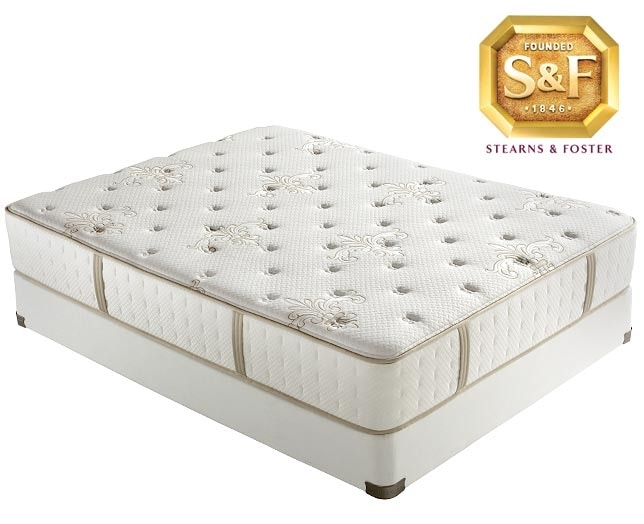 [P Series Ultra Firm Queen Mattress/Boxspring Set]