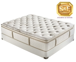 [P Series Luxury Firm EPT Full Mattress/Boxspring Set]