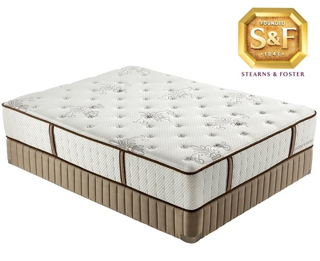 "[Estate Collection ""M"" Series Ultra Firm Queen Mattress/Boxspring Set]"