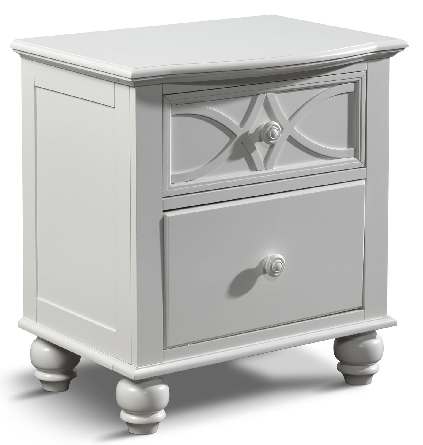 Bedroom Furniture - West Coast Night Table - White