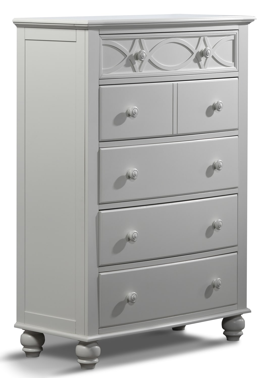 Bedroom Furniture - West Coast Chest - White