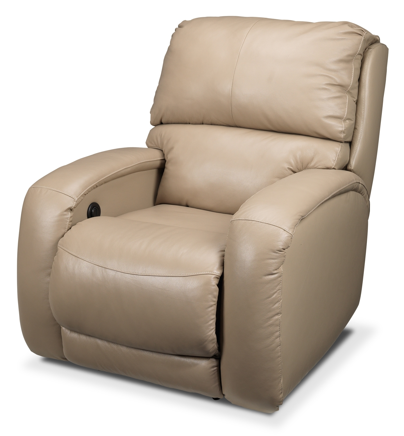 [Fabian Power Recliner - Beige]