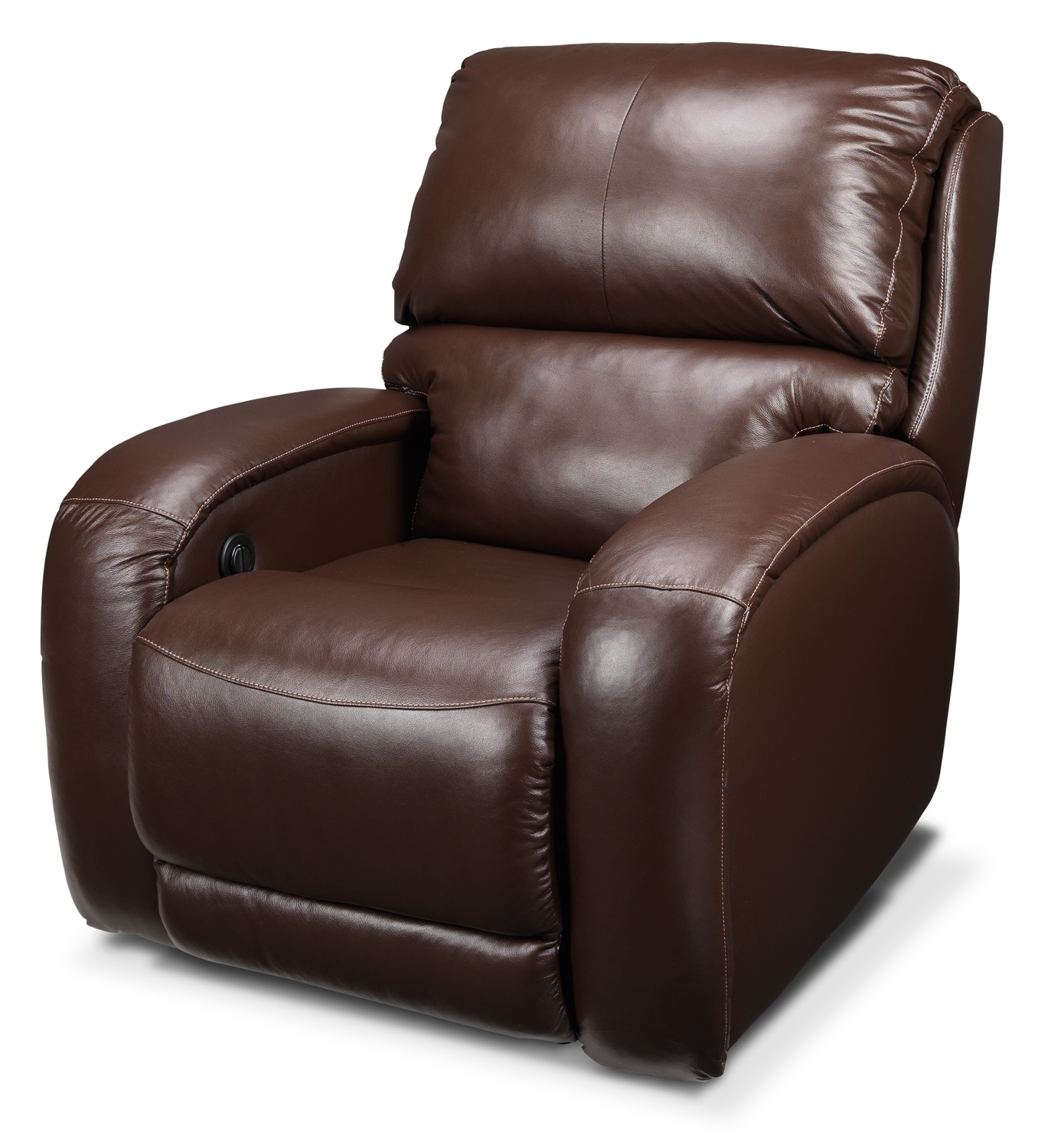 Living Room Furniture - Fabian Power Recliner - Coffee