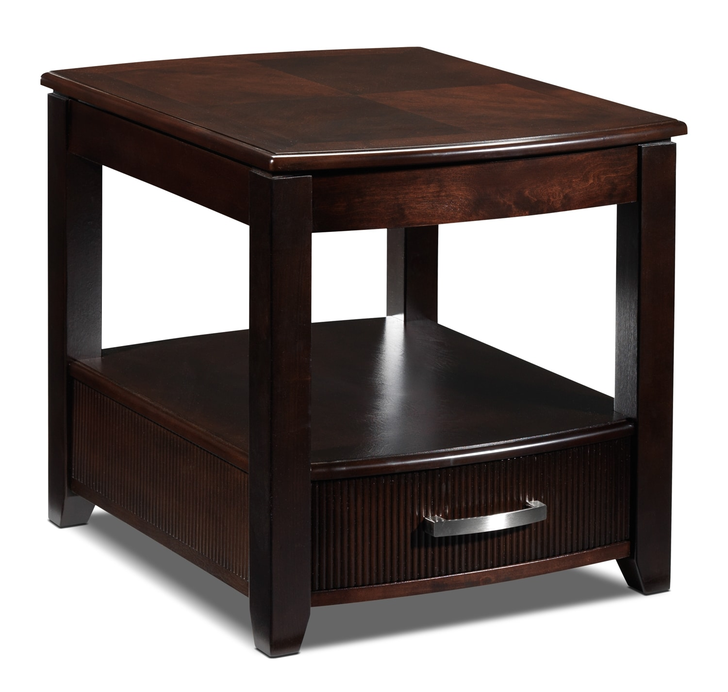 Accent and Occasional Furniture - Joanna End Table - Espresso