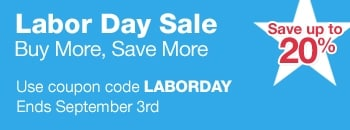 Labor Day Sale: Buy More, Save More at Furniture.com